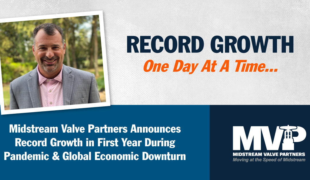 RECORD GROWTH, ONE DAY AT A TIME